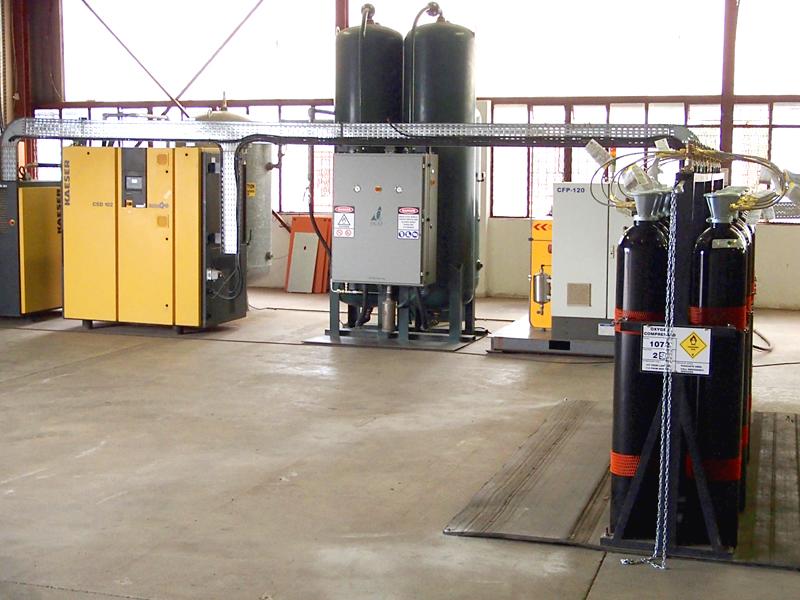 Cylinder Filling System