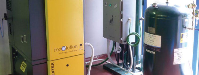 Aquaculture Oxygen System