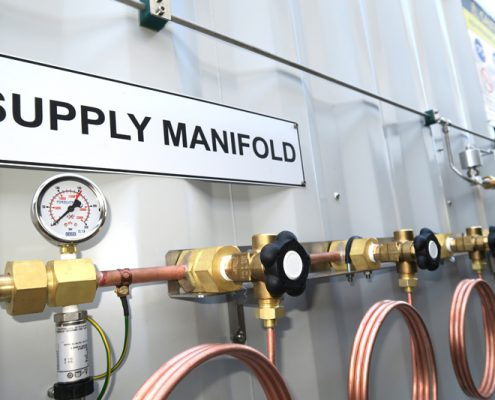 Oxygen Supply Manifold - Foxolution Systems Engineering CC
