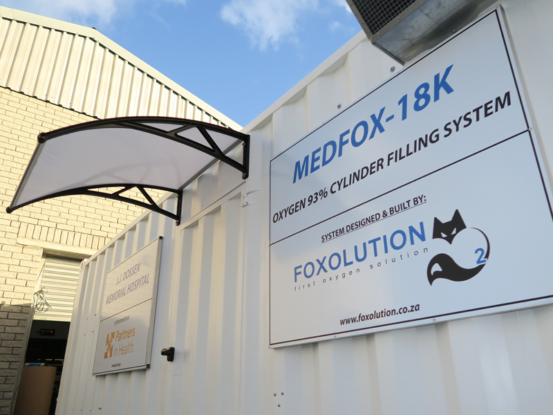 20 Ft Oxygen Generating System - Foxolution Systems Engineering CC