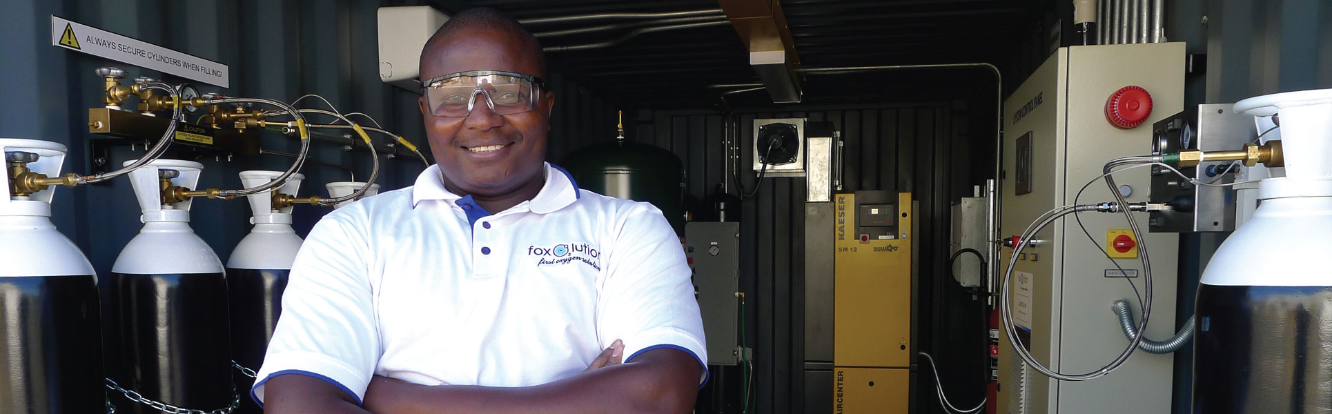 Oxygen Nitrogen Generators - Foxolution Systems Engineering CC
