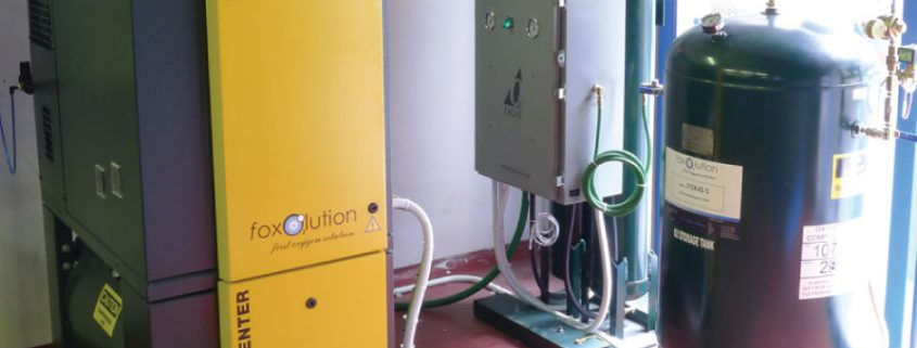 Aquaculture Oxygen System - Foxolution Systems Engineering CC