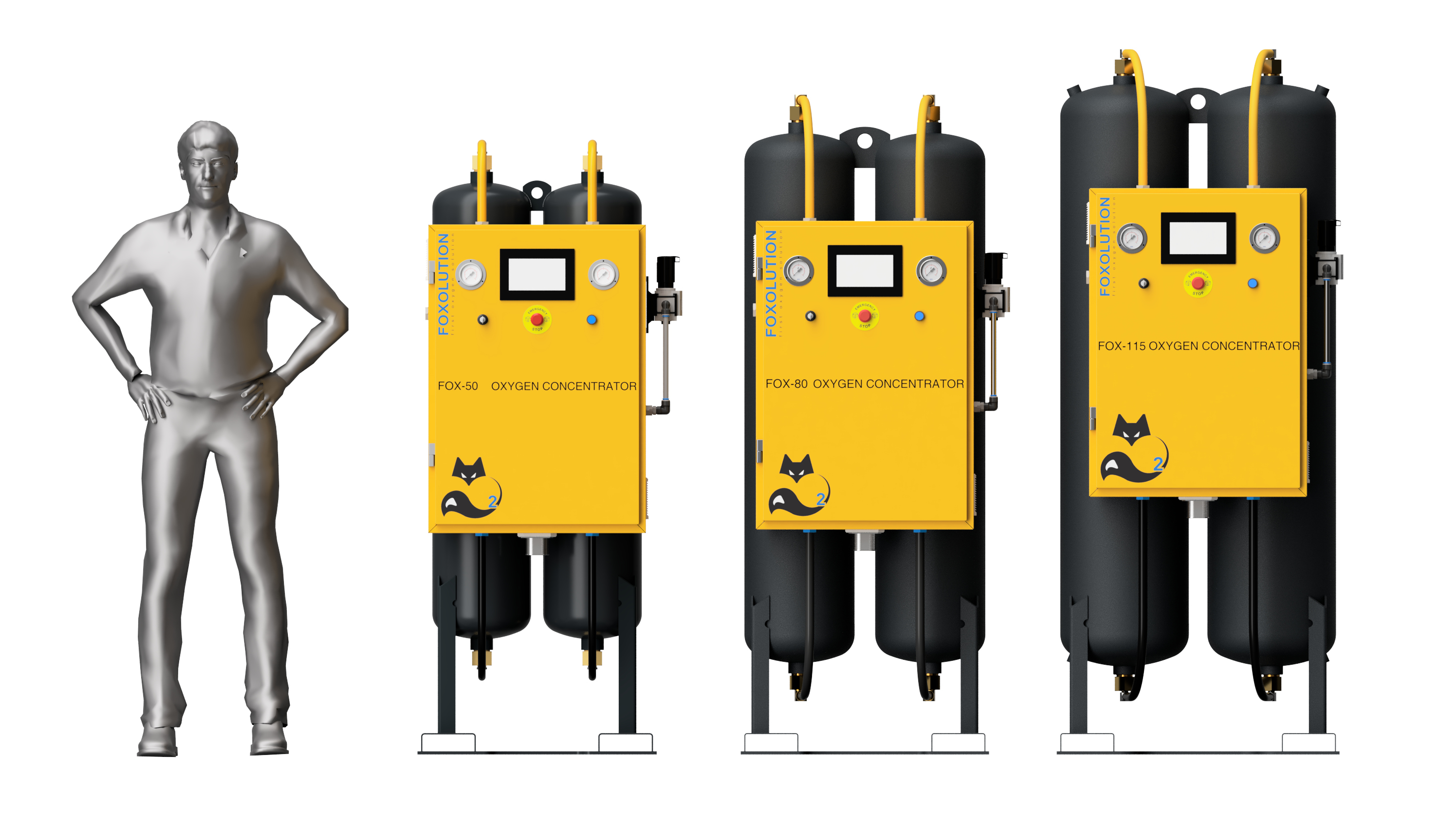 Foxolution Products - Onsite Gas Production Systems
