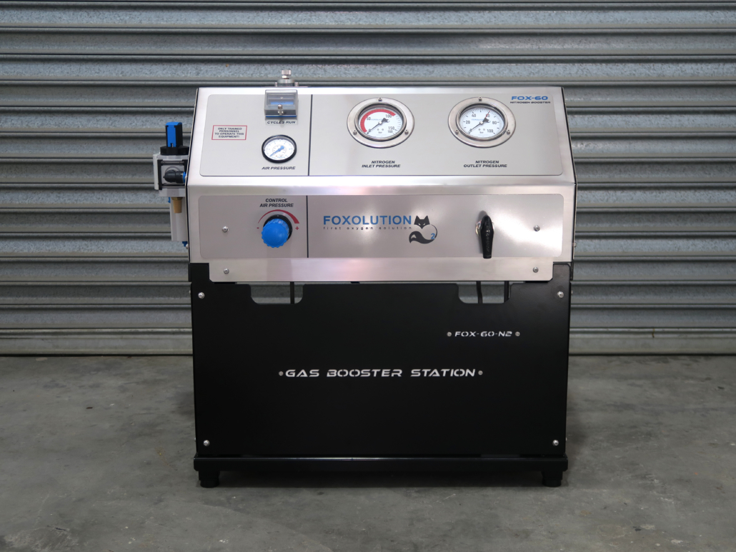 Gas Boosters - Foxolution - Manufacturer of Onsite Oxygen and Nitrogen Generators, Concentrators and Systems.