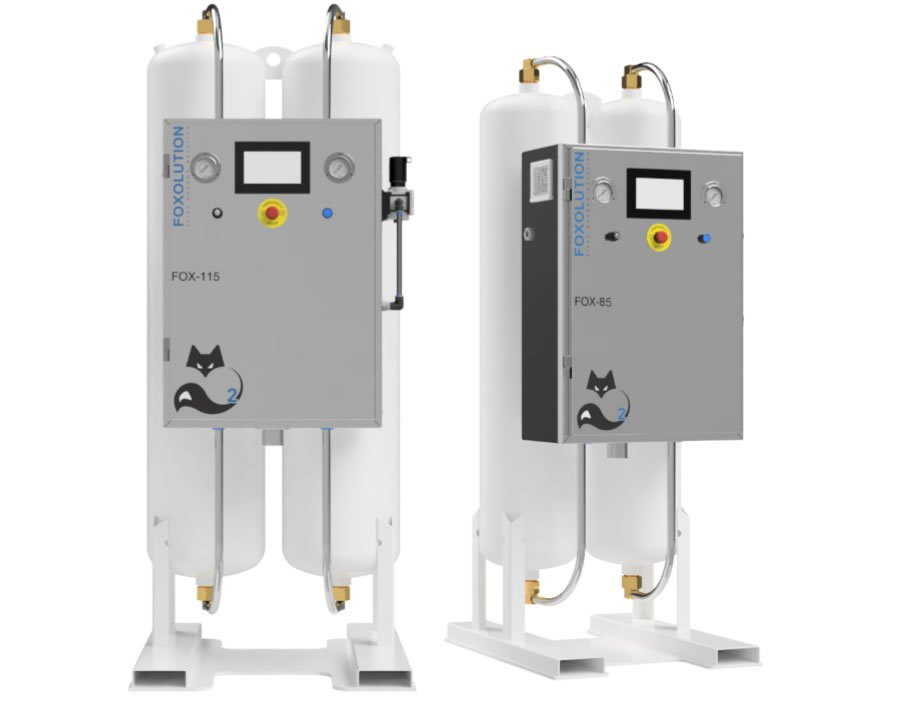 Medfox Containerized Direct-Dual* Supply (DDS) Oxygen Systems
